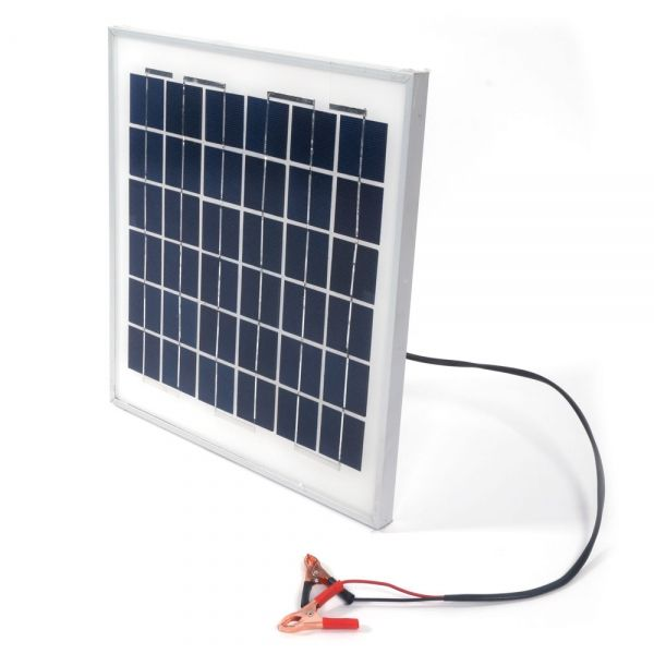 10w 12v Semi Flexible Solar Panel Battery Charger With Clip Solar Panel Battery Flexible Solar Panels Solar Panels