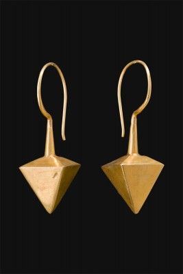 Earrings ancient indians of half 1900 by Cosecosì Gioielli