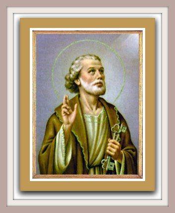 São Pedro - Santos e Santas da Igreja Católica Apostólica (1º módulo)