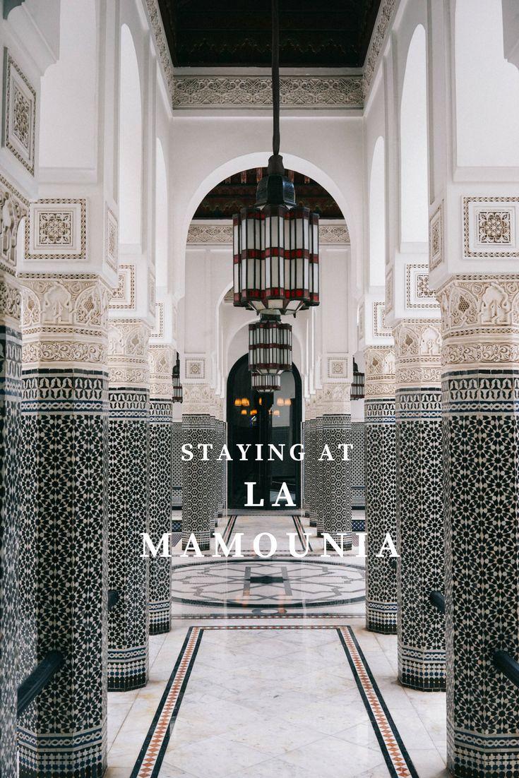 LaMamounia: a luxurious Marrakech resort