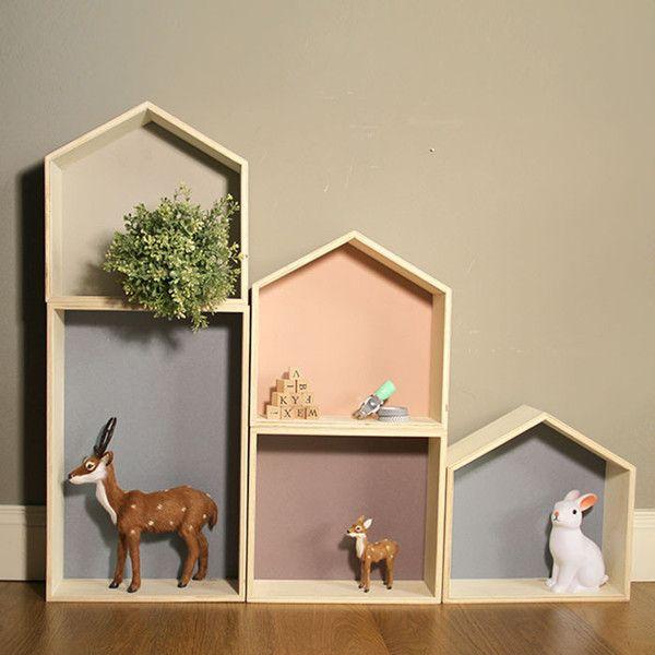 ¡Nuestro diseño estrella! Por fin añadimos a nuestra colección la little box con forma de casita! Deja volar tu imaginación, combina, mezcla y decora tú misma