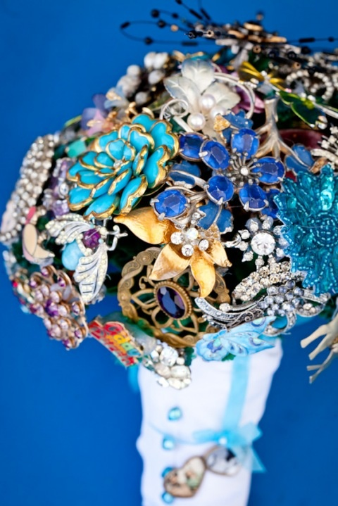 Wedding brooch bouquet made for my daughter in law