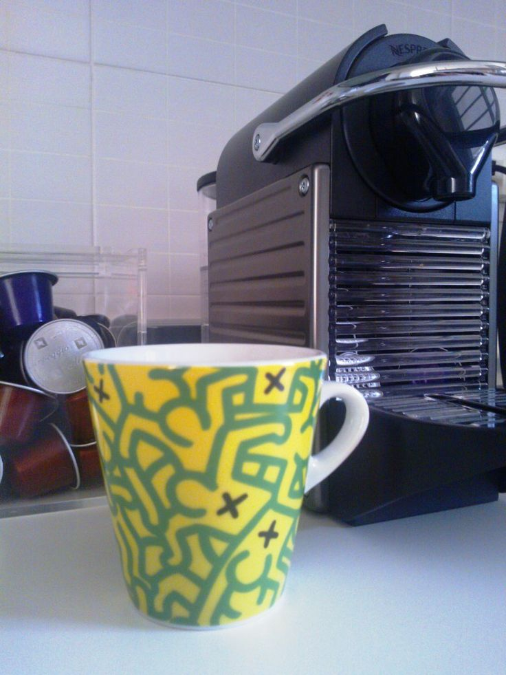 Keith Haring + Nespresso