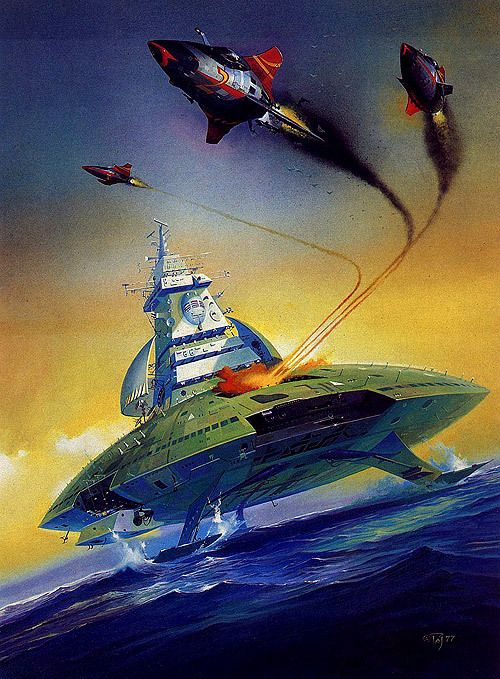 Peter Andrew Jones Sci-Fi Art