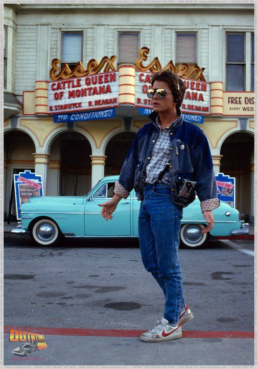 Marty McFly/Michael J. Fox - Back to the Future