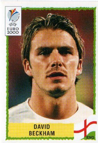 David Beckham dispute son premier Euro en 2000, mais son équipe ne passe pas la phase de poules et se fait éliminée