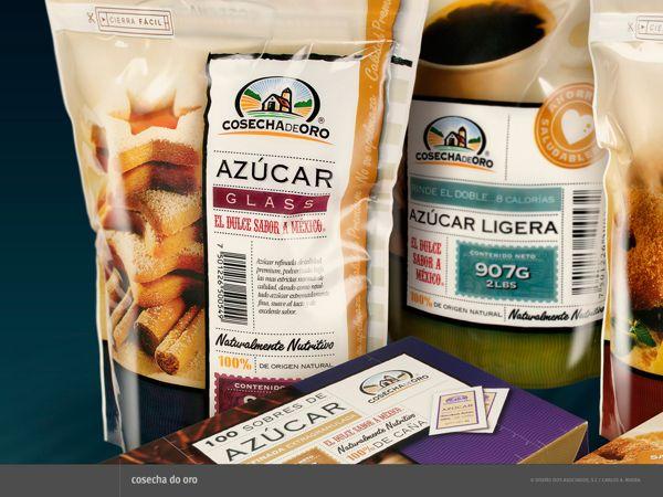 Packaging para Cosecha de Oro by Carlos A. Rivera, via Behance