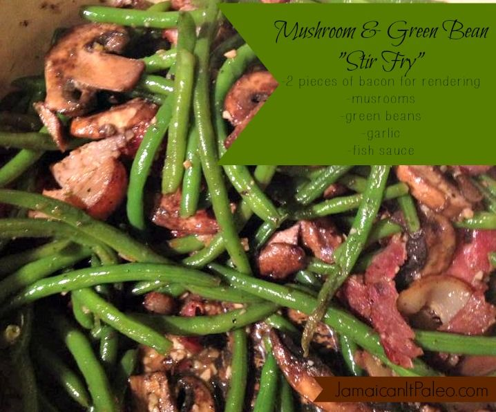29 best jamaican main dishes images on pinterest jamaican food green bean mushroom stirfry forumfinder Gallery