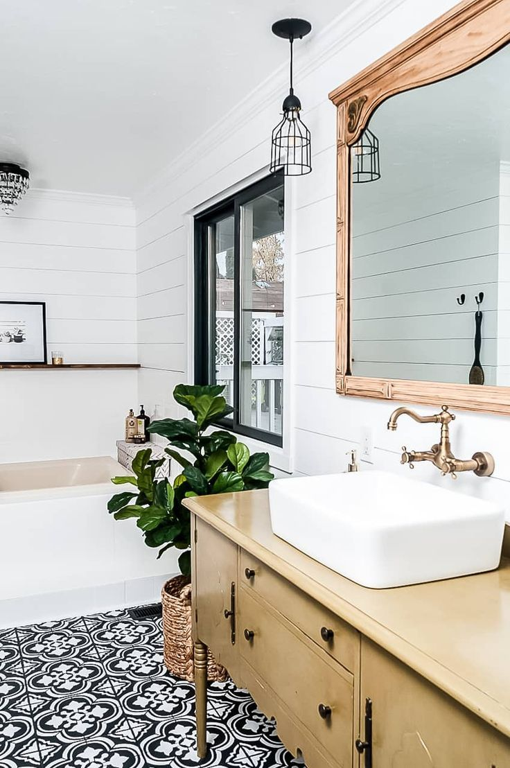 Farmhouse Bathroom Makeover On A Budget Joyful Derivatives Best Bathroom Designs Bathroom Makeover Diy Bathroom Makeover