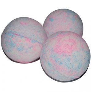 Cotton Candy Bath Bomb Recipe is one of Natures Garden's free bath bomb recipes.  Your kids will love taking a bath with our cotton candy bath fizzy.