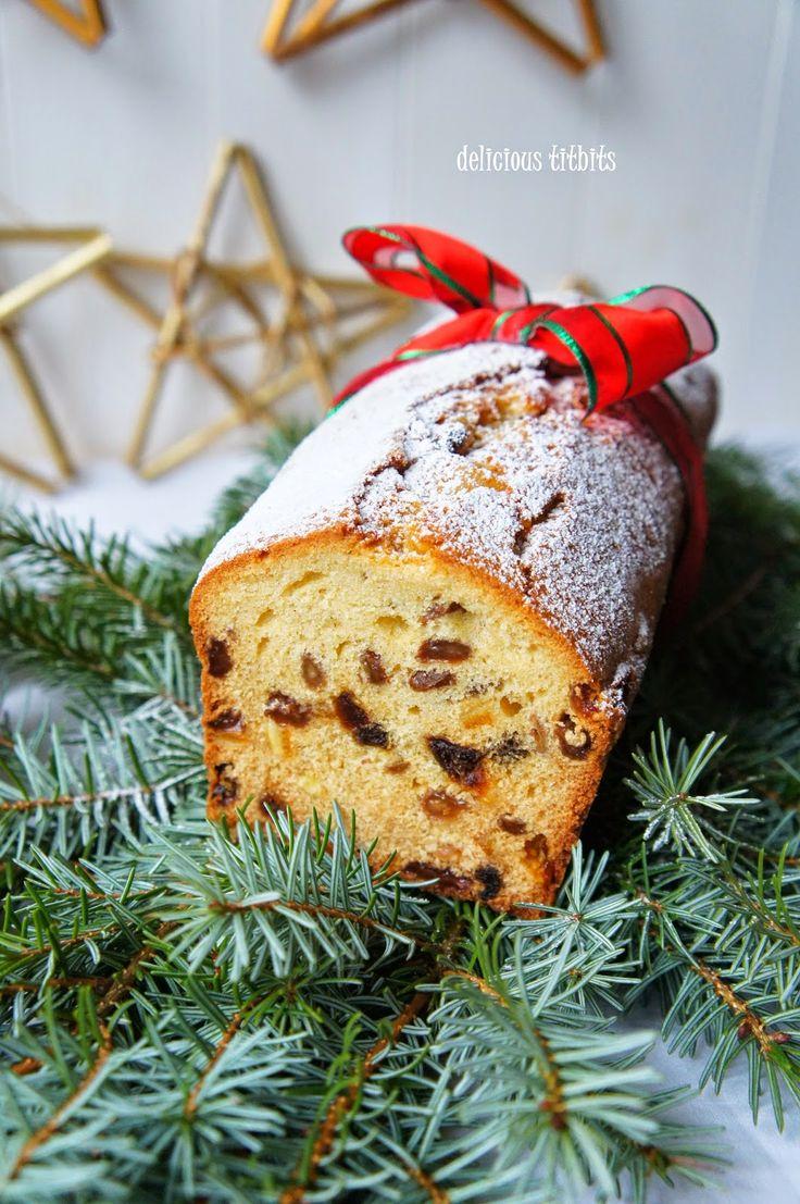 Delicious Titbits: Świąteczny keks angielski / Christmas Fruitcake