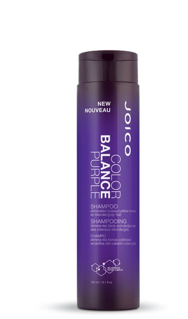 Joico color balance purple shampoo  Eliminates brassy/ yellow tones on blonde /gray hair    May the force be with you: We think our vibrant new shampoo deserves honorable mention for its ability to gi