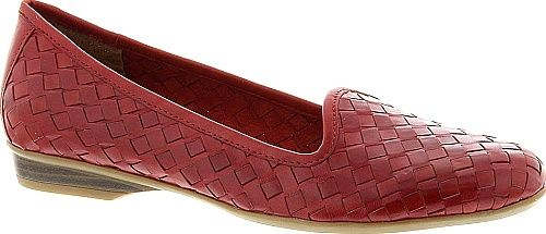 Naturalizer Shoes - An enchanting woven texture makes Naturalizer's leather slip-on a style standout in any setting. Leather upper. - #naturalizershoes #redshoes