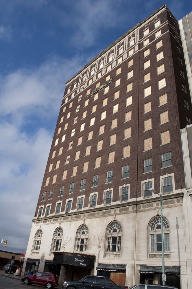 the onesto hotel in downtown canton ohio it was built in 1930 the building is currently. Black Bedroom Furniture Sets. Home Design Ideas