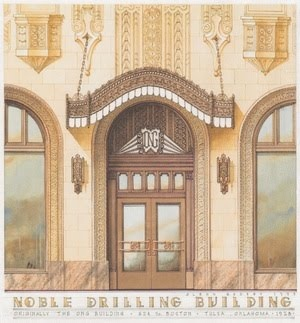Oklahoma Natural Gas, now Noble Drilling, 1929, Tulsa, National Register Historic Places