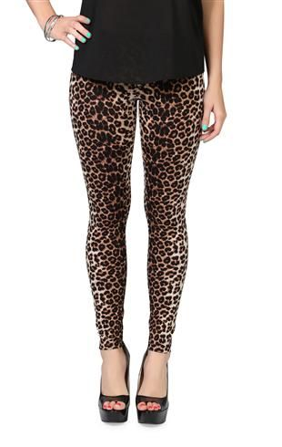 Deb Shops #cheetah print #leggings Kind of obsessed with cheetah anything right now.