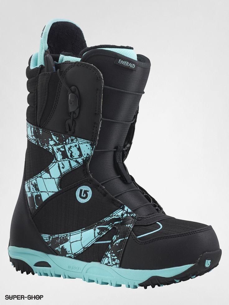 Burton Snowboard Schuhe EMERALD Wmn (blackcroc) super shop