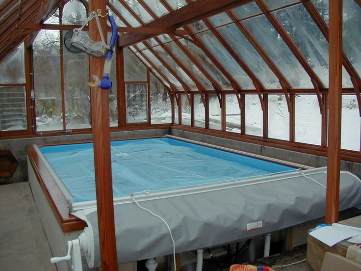 17 best images about greenhouse on pinterest gardens for Pool inside greenhouse