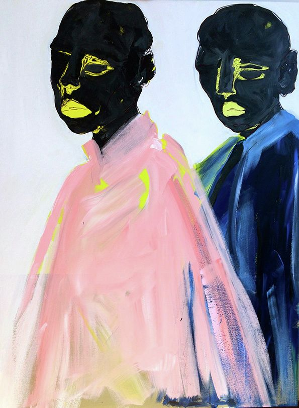 There's a wonderful dreaminess to Toronto-based Erin Armstrong's paintings, as she adds an ethereal slant to the everyday with her characters existing in a haze of color and brushstrokes. From IT'S NICE THAT - Championing Creativity Since 2007 #Frederic