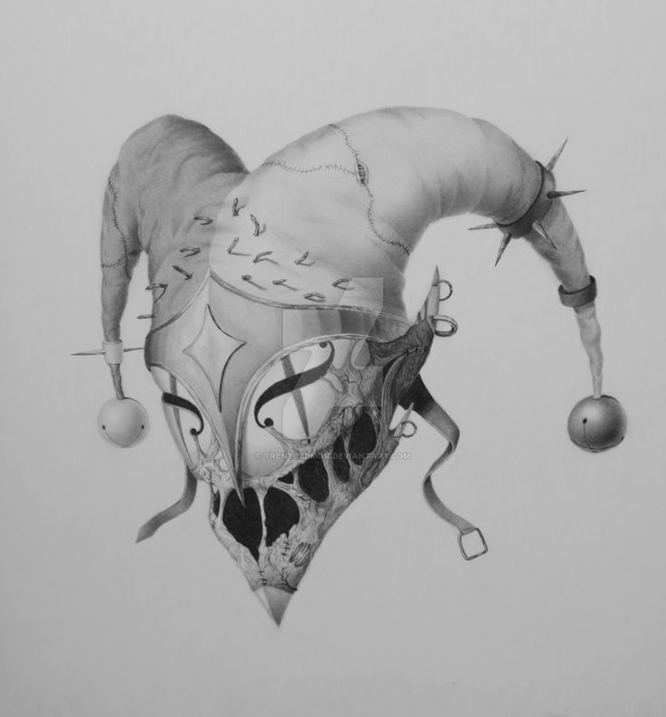 evil jester art - Google Search