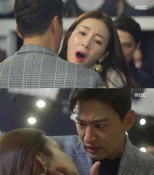 "[Spoiler] ""Woman with a Suitcase"" Choi Ji-woo gets stabbed for Joo Jin-mo"
