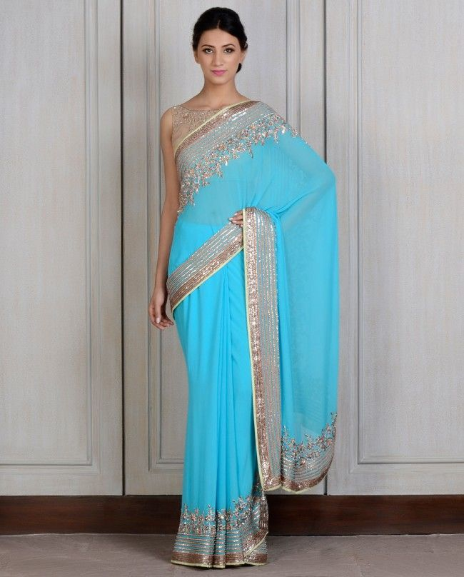 Manish Malhotra Latest Saree Designs Collection 2016-2017