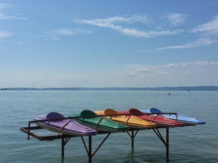 One sunny day at the lake Balaton!