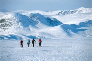 5 scenic spots for XC skiing