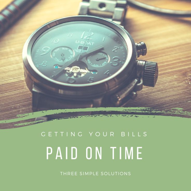 Getting Your Bills Paid on Time Running your own business can be extremely rewarding but there will always be times when it will be quite the opposite. Depending on the business, many factors will determine the success or failure of a small enterprise however the most common is cash flow. Outlined below are three very simple solutions to cash flow problem…