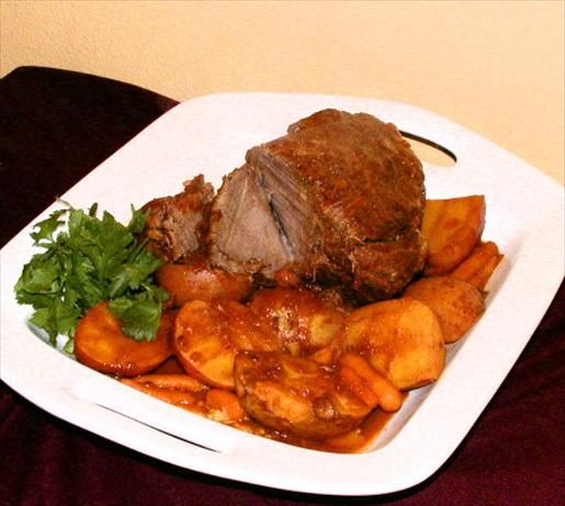 Pot Roast - Pressure Cooker. Photo by Mrs Goodall