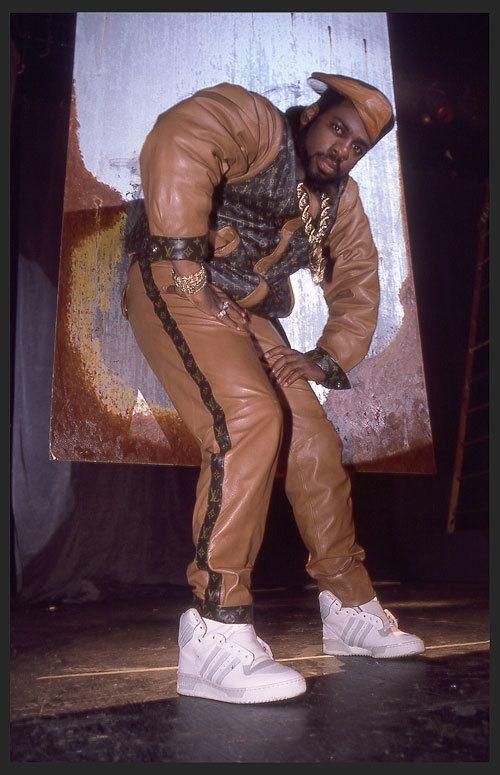 Jam Master Jay in 1986 in Dapper Dan