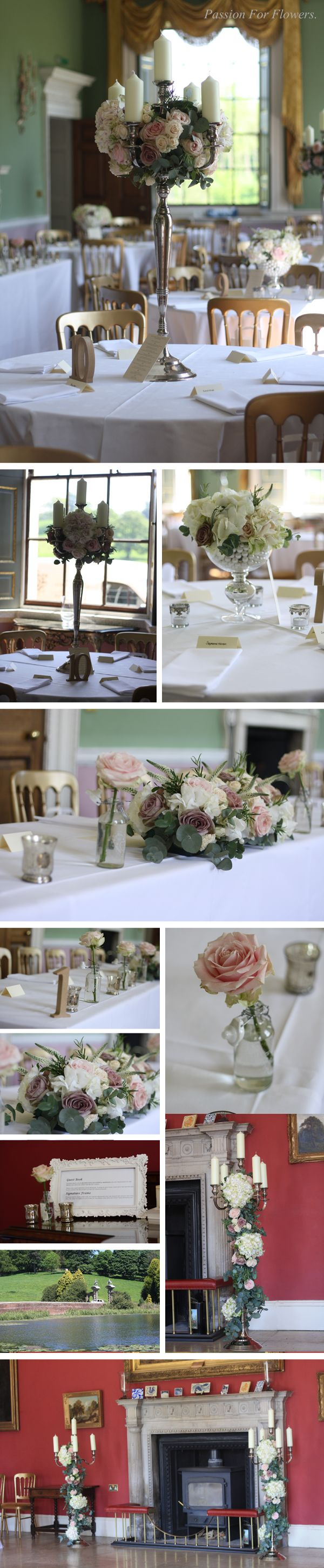 Wedding Flowers At Staunton Harold By Passionforflowers