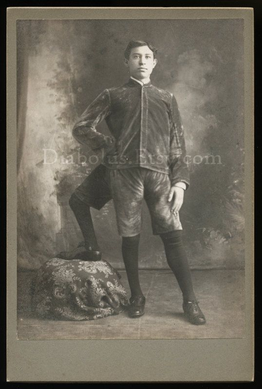 Incredible Cabinet Card Photo of a Human Oddity by diabolus, $595.00
