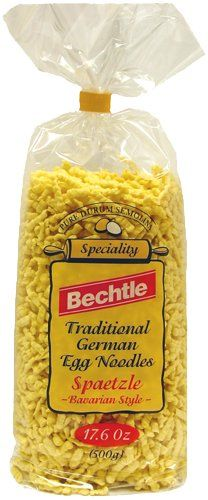 Bechtle Spaetzle - The best ready-made spaetzle noodles you can buy.  They have great texture and flavor!