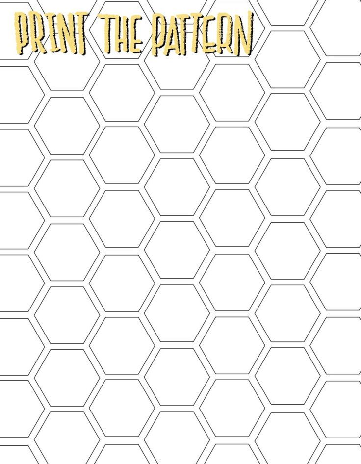 honeycomb pattern printable                                                                                                                                                      More