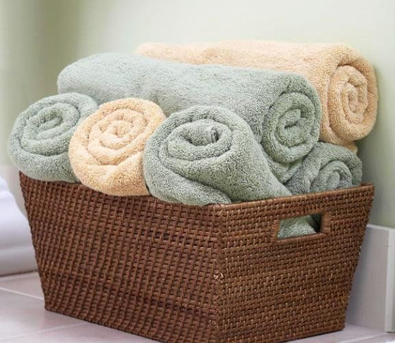 Bathroom Towel Storage, Towel Basket Bathroom