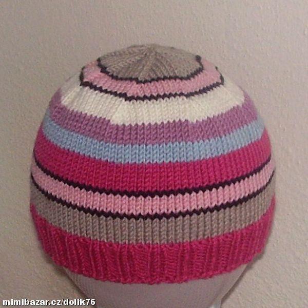 Pruhovaná čiapočka
