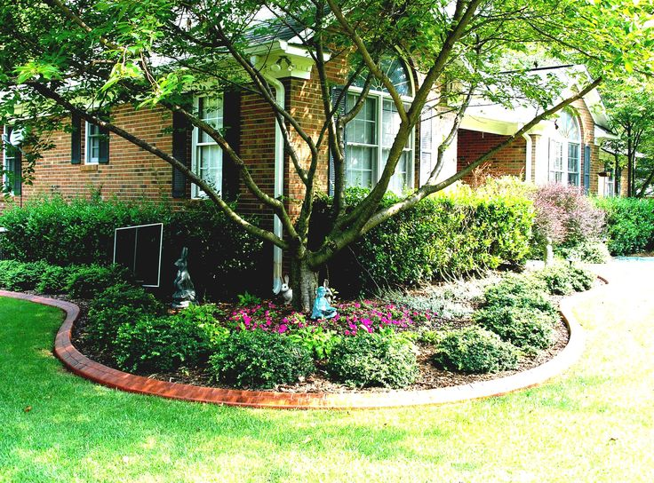 Landscaping Ideas For Front Yard Raised Ranch : Best ranch house landscaping ideas on remodel brick exterior