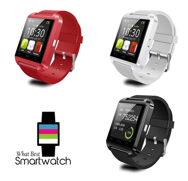 LeexGroup ® 2PCS U8 Despite claims to the contrary, we insist this device is NOT compatible with IOS phones. However, it's not bad as a budget Android smartwatch.  http://whatbestsmartwatch.com/smartwatches-for-fitness-and-health/leexgroup-2pcs-u8/