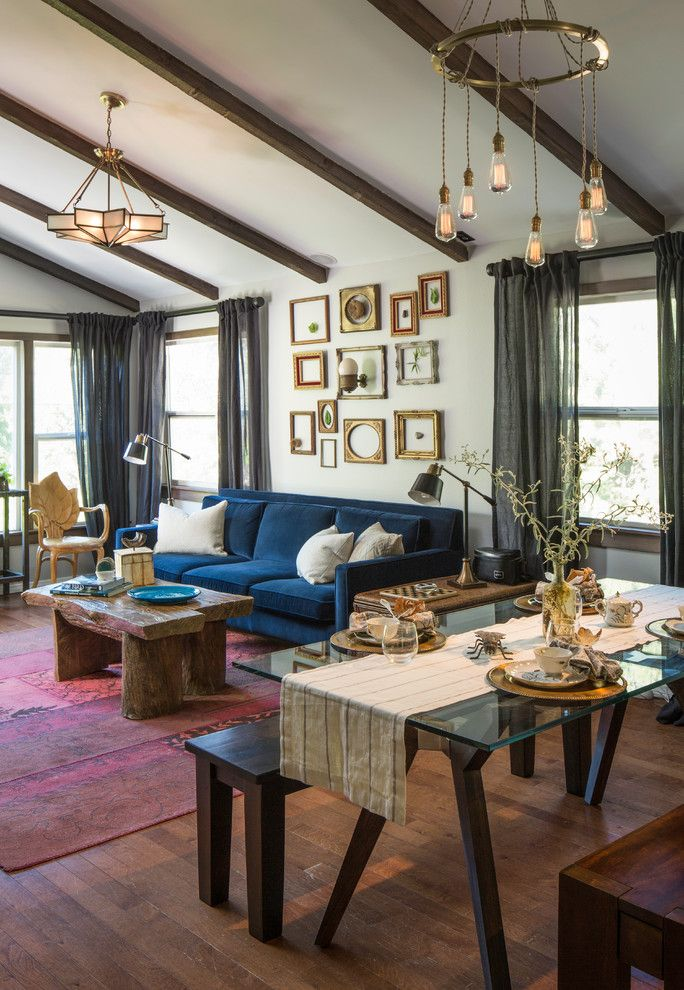 20 amazingly eclectic living room designs