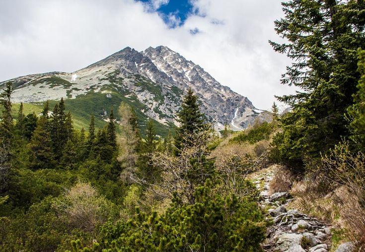 Peak Gerlach - the highest peak of Slovakia - 2 655 meters