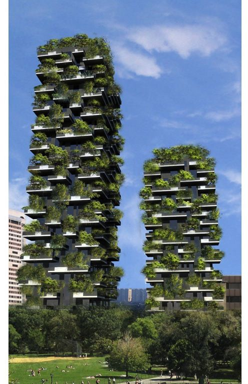 Milan architects have planned a vertical forest to offset the effects of pollution. We need more such clever designs to save the planet!