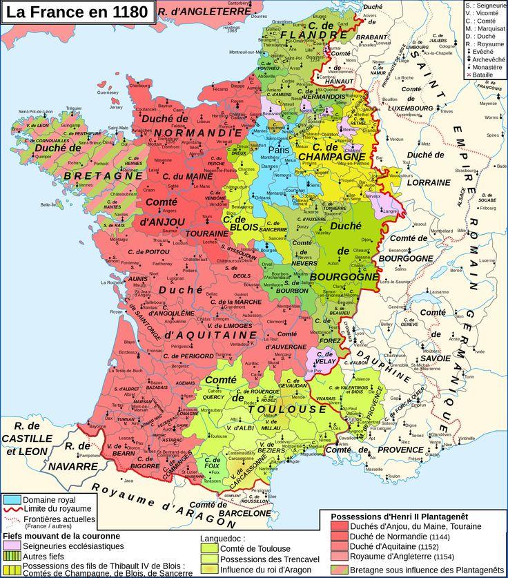 France in 1180