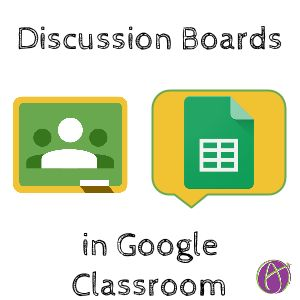 """While I want threaded discussions in Google Classroom, I do not want them in the stream. Multiple student responses will clutter up the Google Classroom stream quickly. I always say """"the answer is ..."""