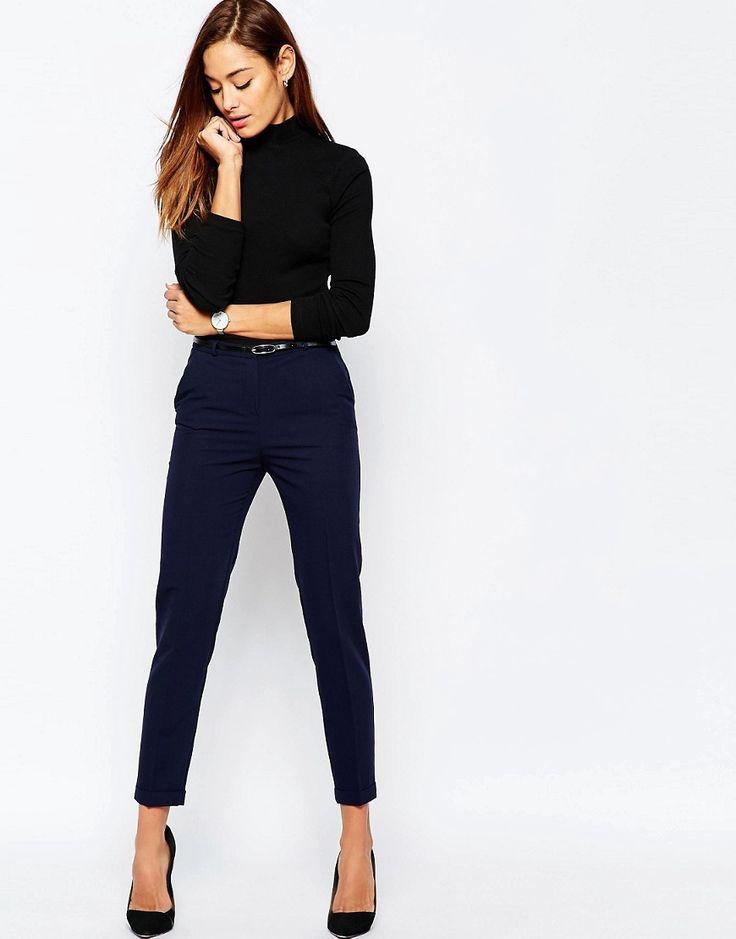 Best 25+ Cigarette Trousers Ideas On Pinterest | Cigarette Trousers Outfit Pants Cigarette And ...