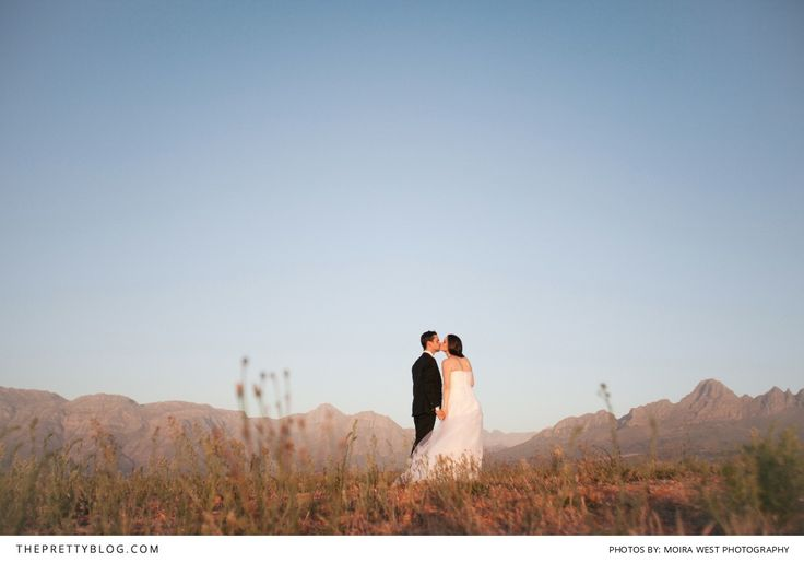 Newlyweds sharing a special moment at Cavalli Estate in Stellenbosch, South Africa   #DestinationWedding