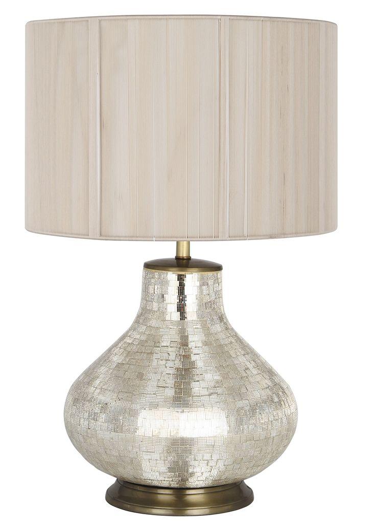 Mosaic Table Lamp Champagne   PAGAZZI Lighting