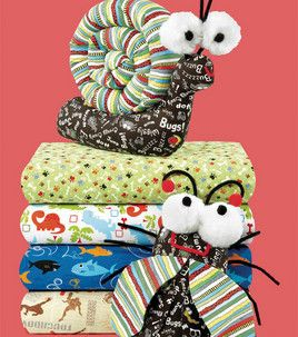 Stuffed bugs: Stuffed Animals, Stuffed Bugs, Crafts Ideas, Sewing Projects, Home Projects, Bugs Toys, Quilting Projects, Fabrics Crafts, Quilts Projects