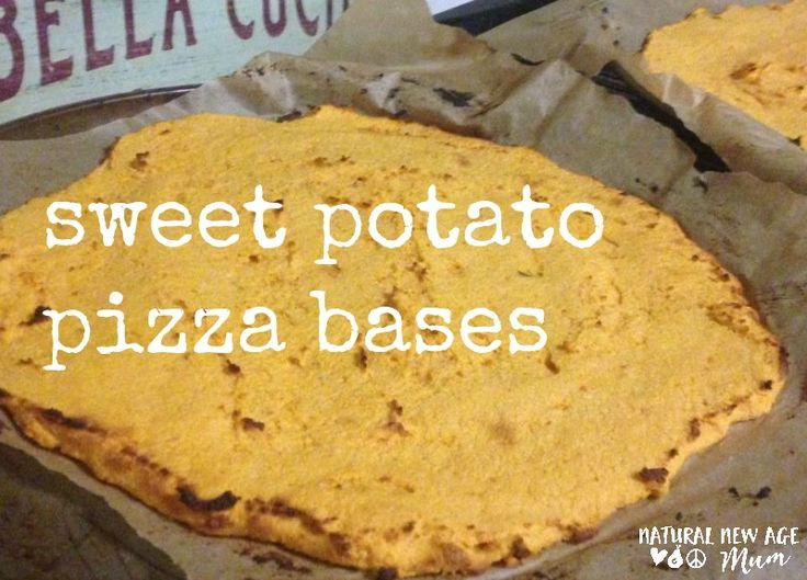 Sweet Potato Pizza Bases. These delicious and easy to make pizza bases are gluten free, dairy free, paleo and vegetarian.