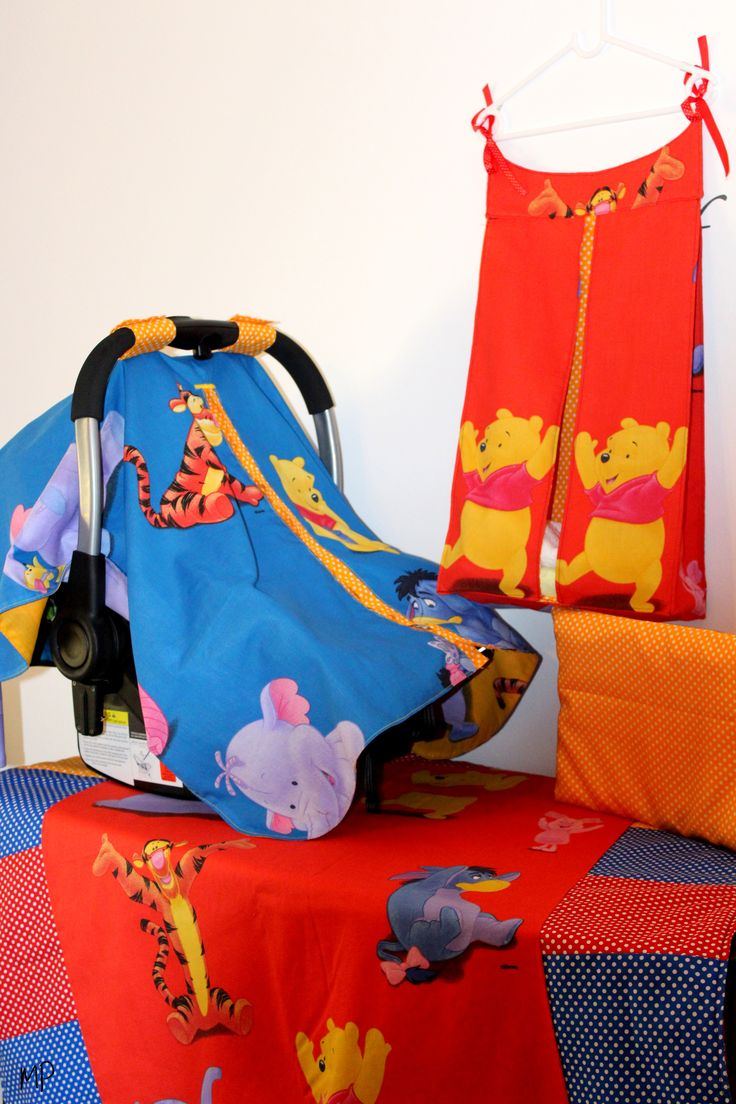 Picalo cover, Bedding and Nappy holder.